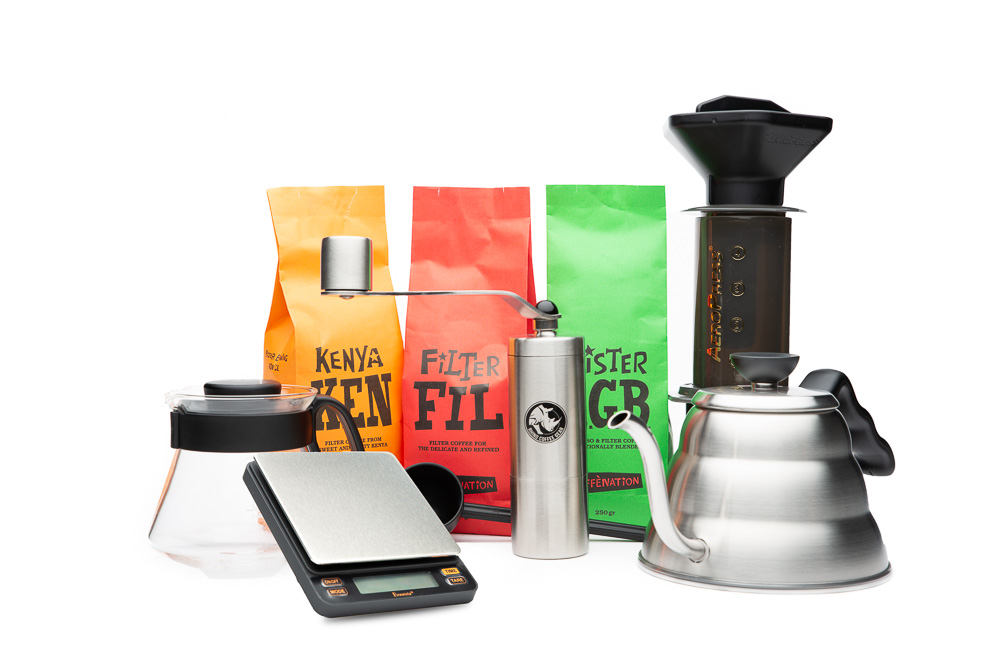 Pack Barista Slow Coffee Caffenation