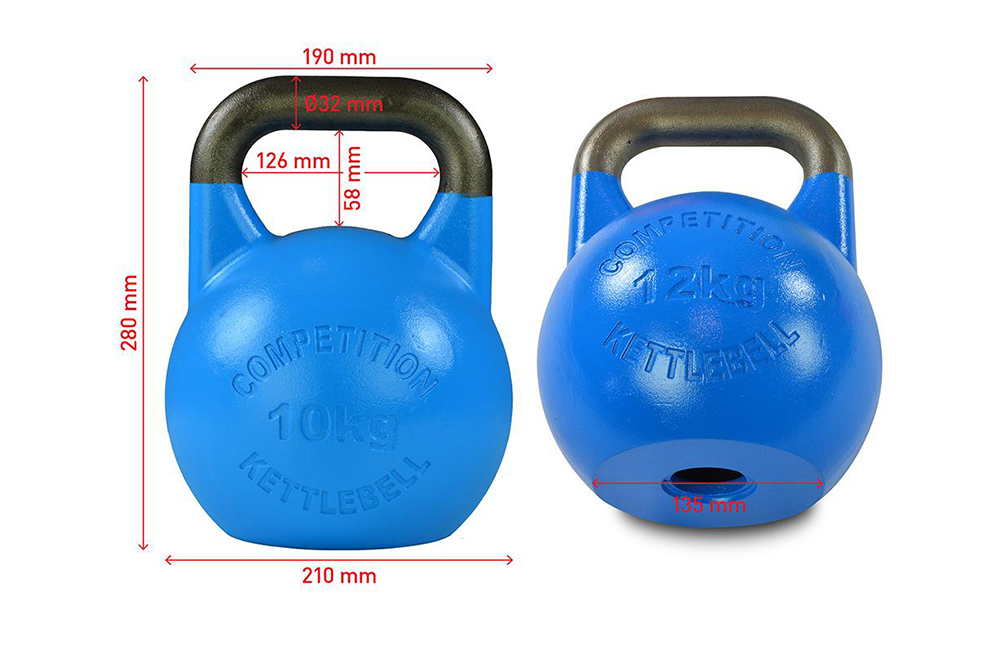 Bodytrading Competition Kettlebells Set