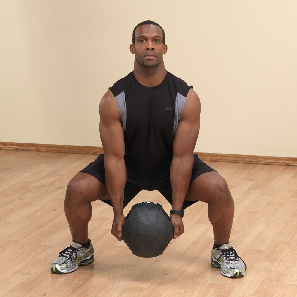 Body-Solid Dual-Grip Medicine Ball 8 kg